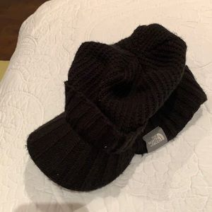 The North Face Men's Knit Hat with stiff brim